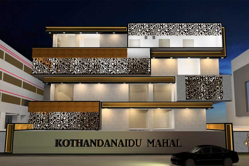 D Sign K Studio Kalyana Mandapam Architects Marriage
