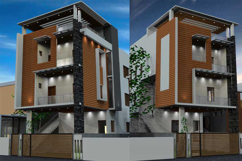 Beautiful Residential Architects In Chennai